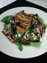 Strawberry Sea Bass Salad